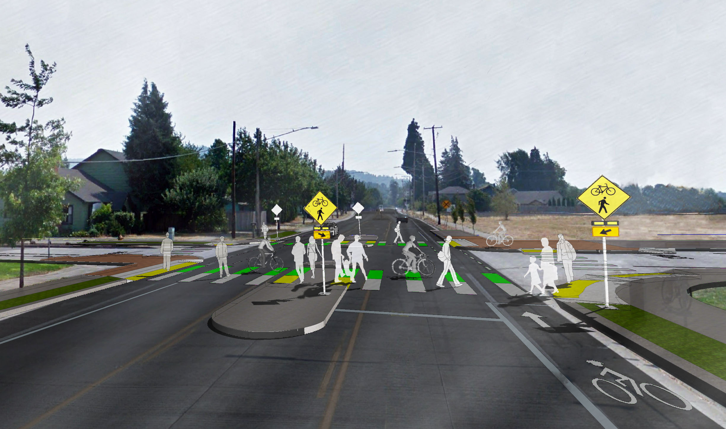 32nd Street Intersection Design Concept