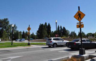 Traffic Roundabout Glenwood