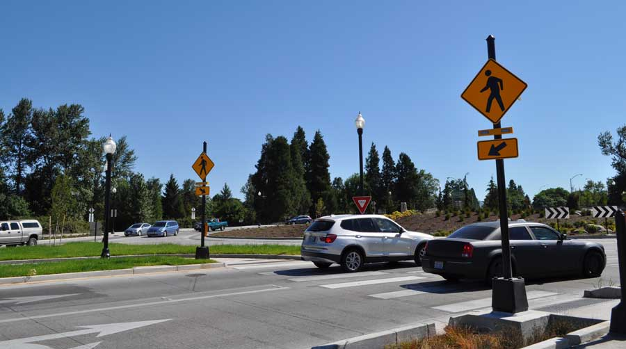Traffic Roundabout Glenwood