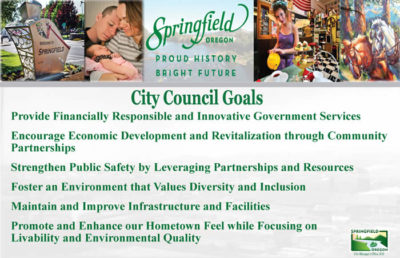 City Council Goals - see following text
