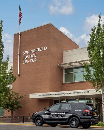 View of Springfield Justice Center