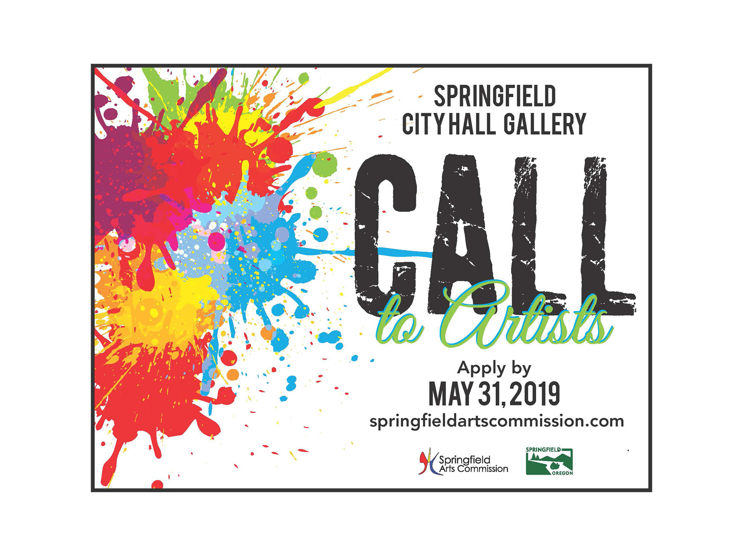 Promotion to Solicit Artists for the City Hall Gallery