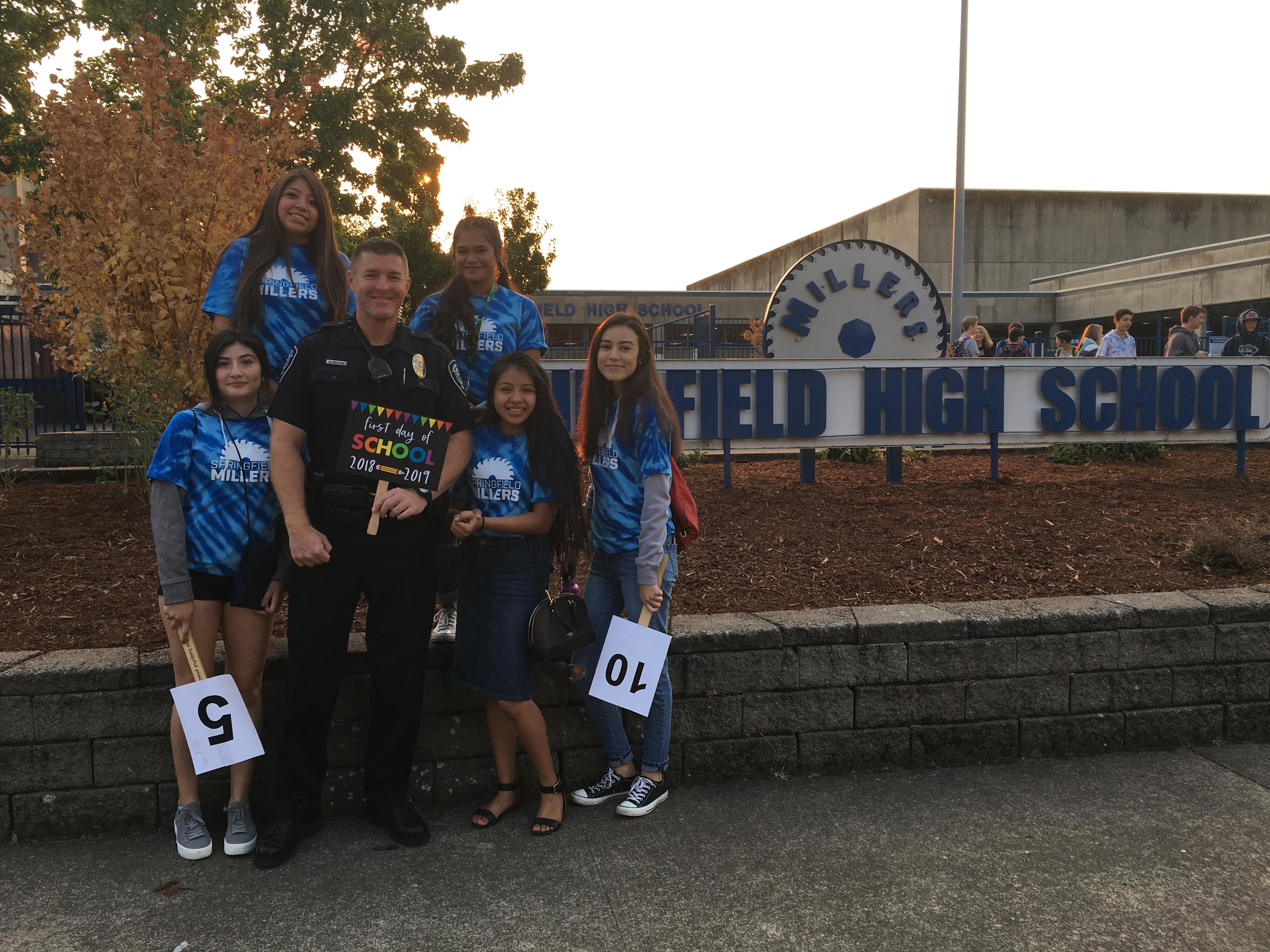 School Resource Officers – City of Springfield Oregon