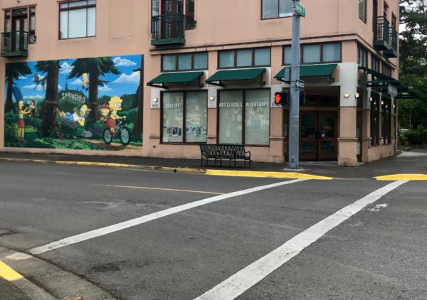 Downtown Springfield Crosswalk