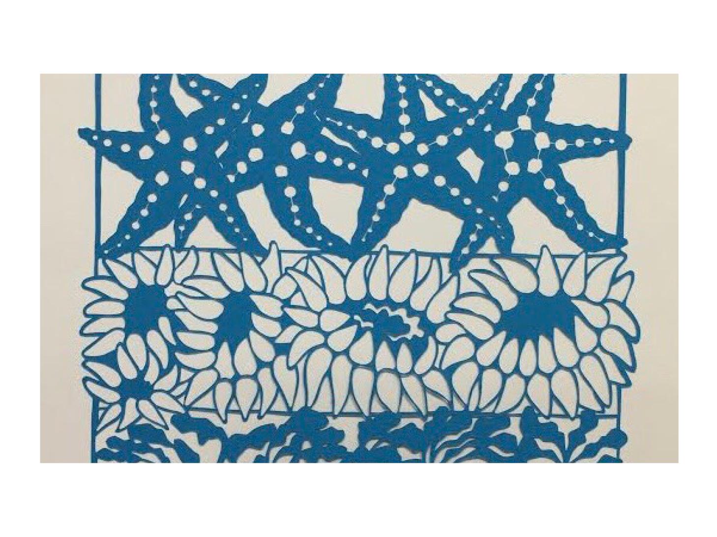 image of papercuts art exhibit