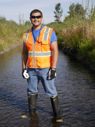 Waterway Cleanup Photo Shoot