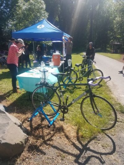 Wheels by the Willamette event