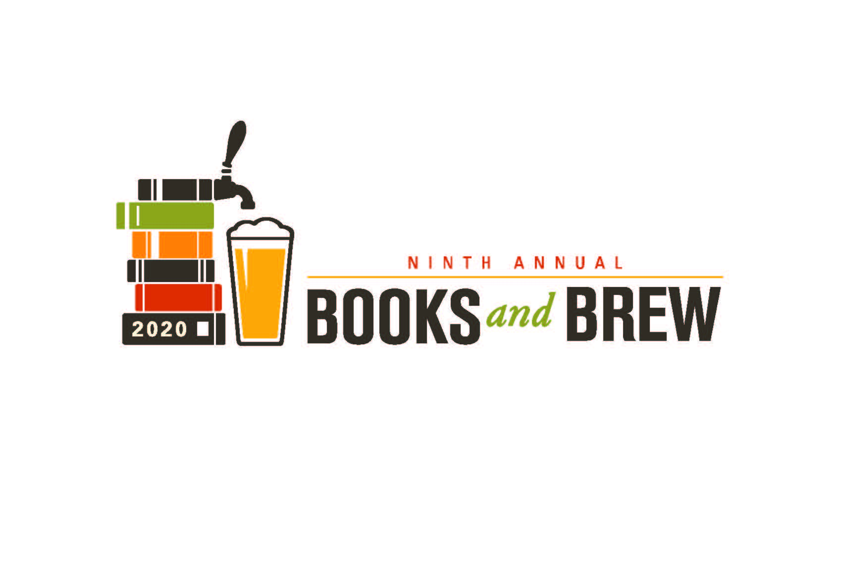 Books and Brew Event Logo