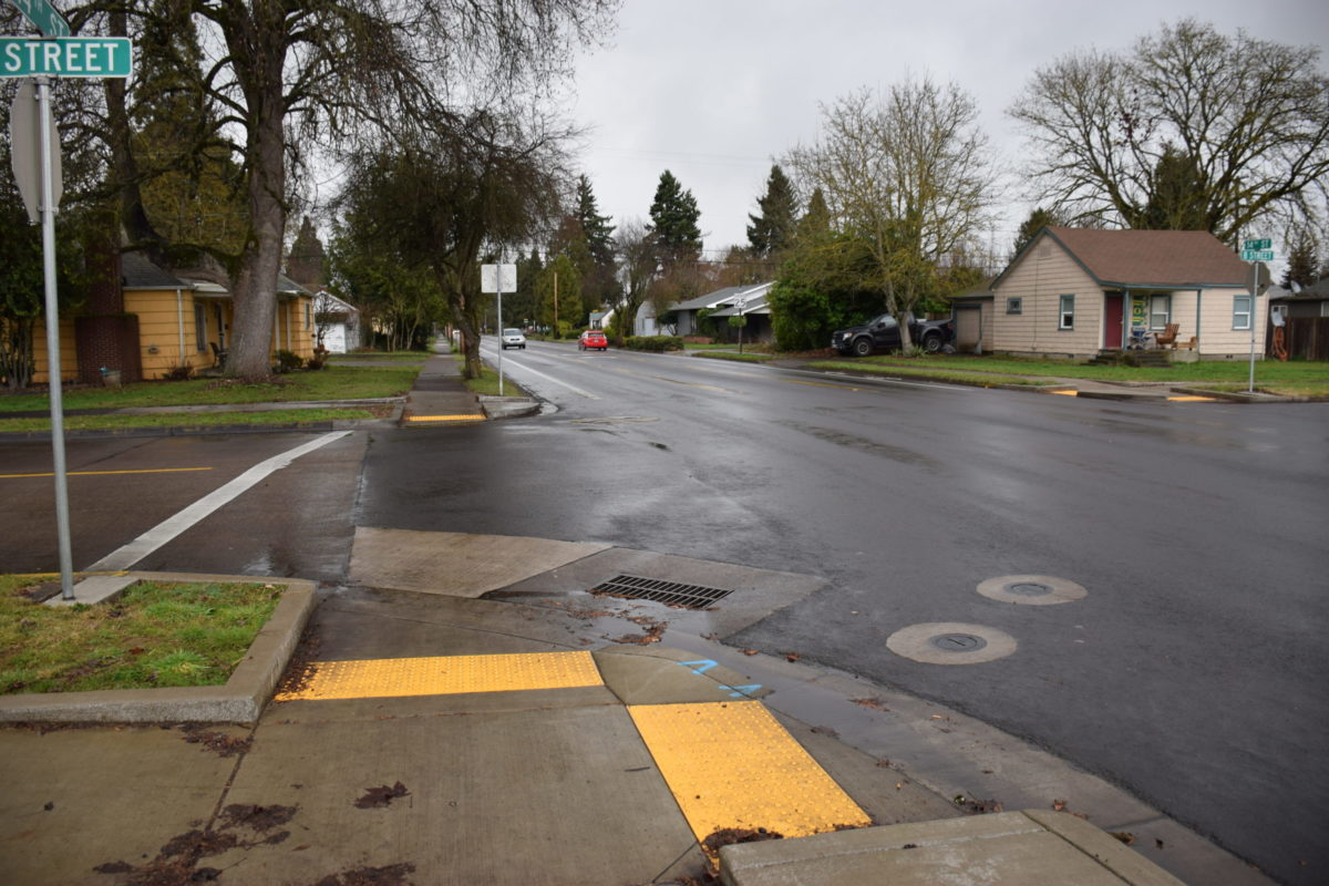 14th Street after overlay project completed.