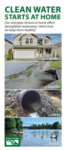 Clean Water Starts At Home